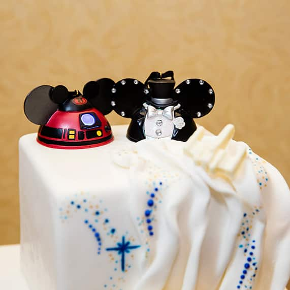 Wedding Cake Wednesday Star Wars Galaxy Inspiration