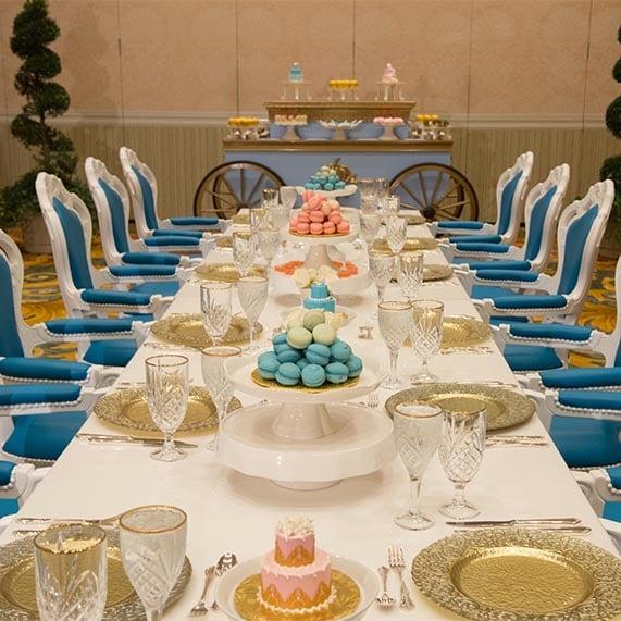 Disney Decor: A Royal Inspired Reception