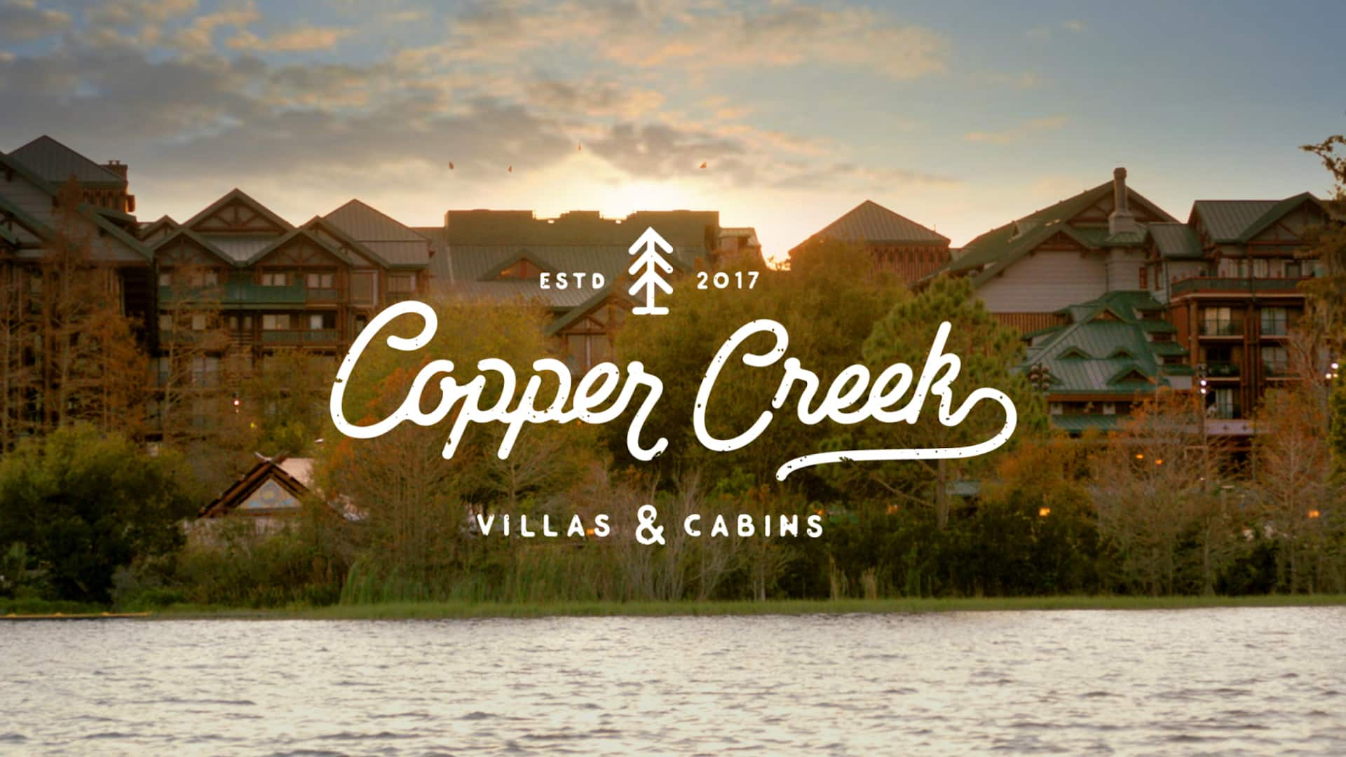 The exterior of Copper Creek Villas & Cabins at Disney's Wilderness Lodge