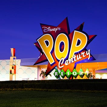 Disney's Pop Century Resort in Florida