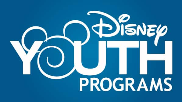 A Disney Youth Programs logo featuring a stylized Mickey Mouse