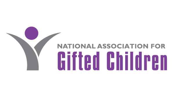 A National Association for Gifted Children logo featuring a stylized version of a child